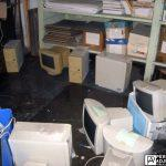 computers and files ruined from water damage business interruption in cranston, Rhode Island