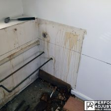 water damage in Cranston, Rhode Island dripping on wall