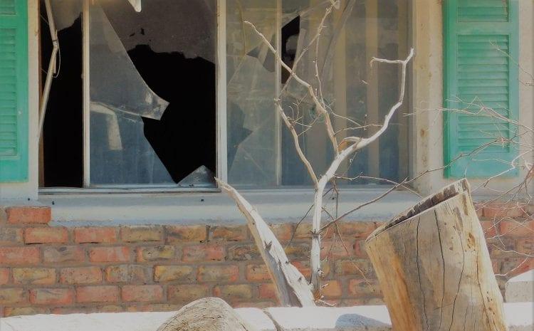 Vandalism in RI: After The Break In