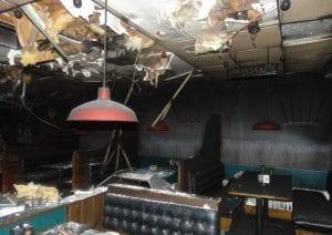 business interruption fire damage ri