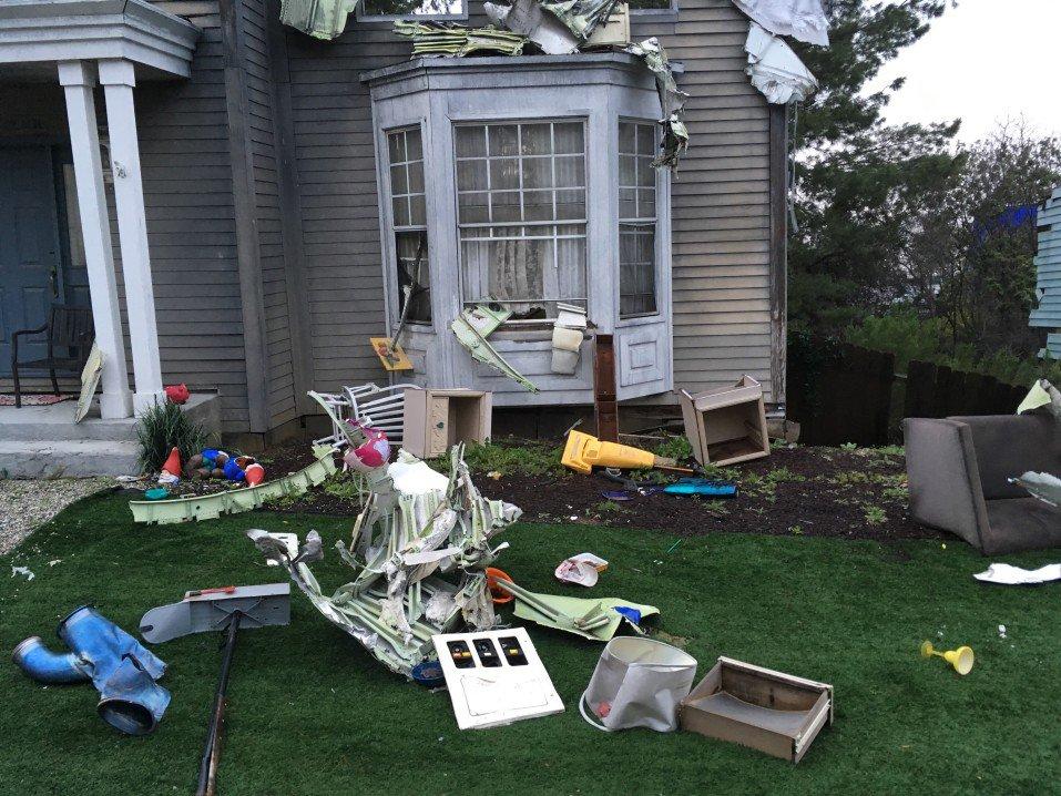 damaged contents house property damage