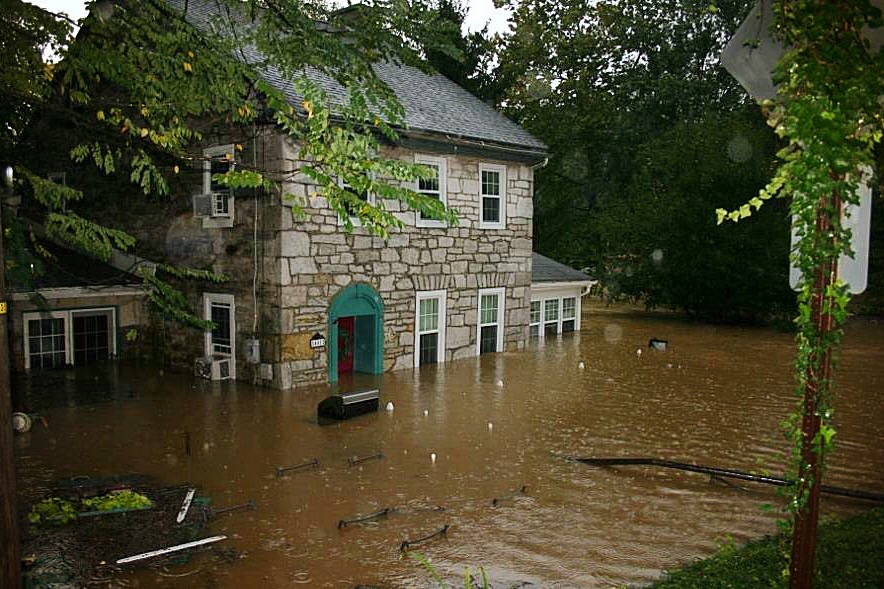 flood damage in ri