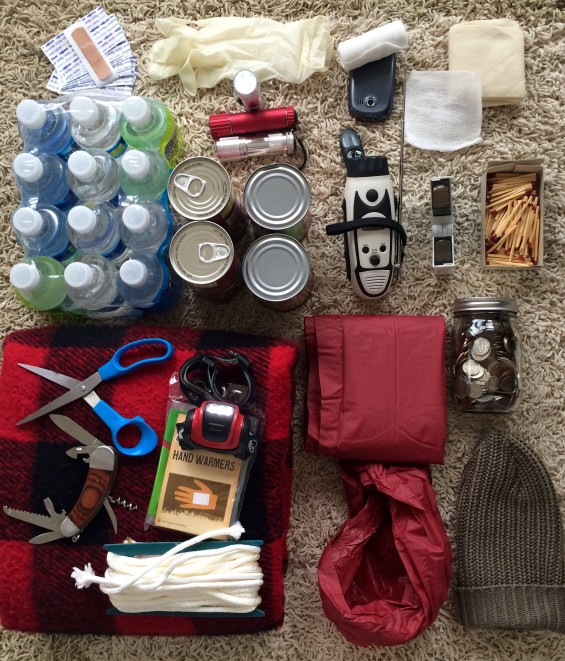 build an emergency kit in ri