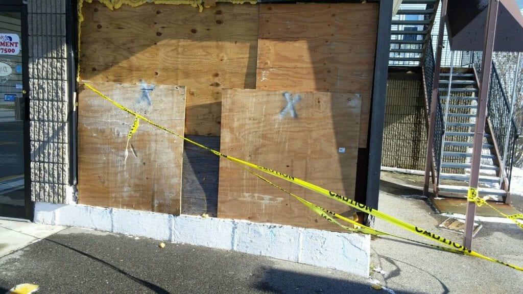 vandalism from riots in rhode island