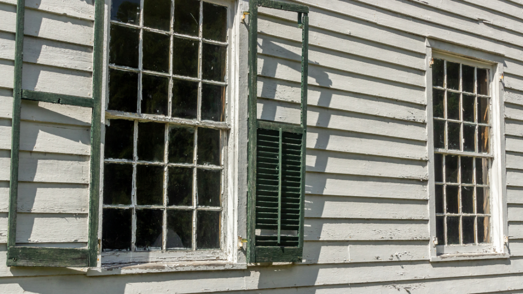 if you have damaged siding due to poor upkeep for example, your inurance company will deny your claim