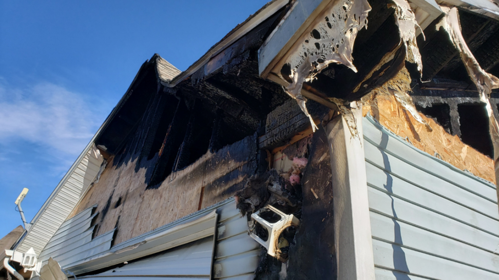 be sure to check which damages will and will not be covered on your homeowners insurance polcy when filing a homeowners insurance claim