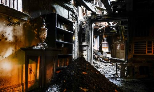 severe fire damage to a home in ri. Call a Public Adjuster in Hopkinton, RI